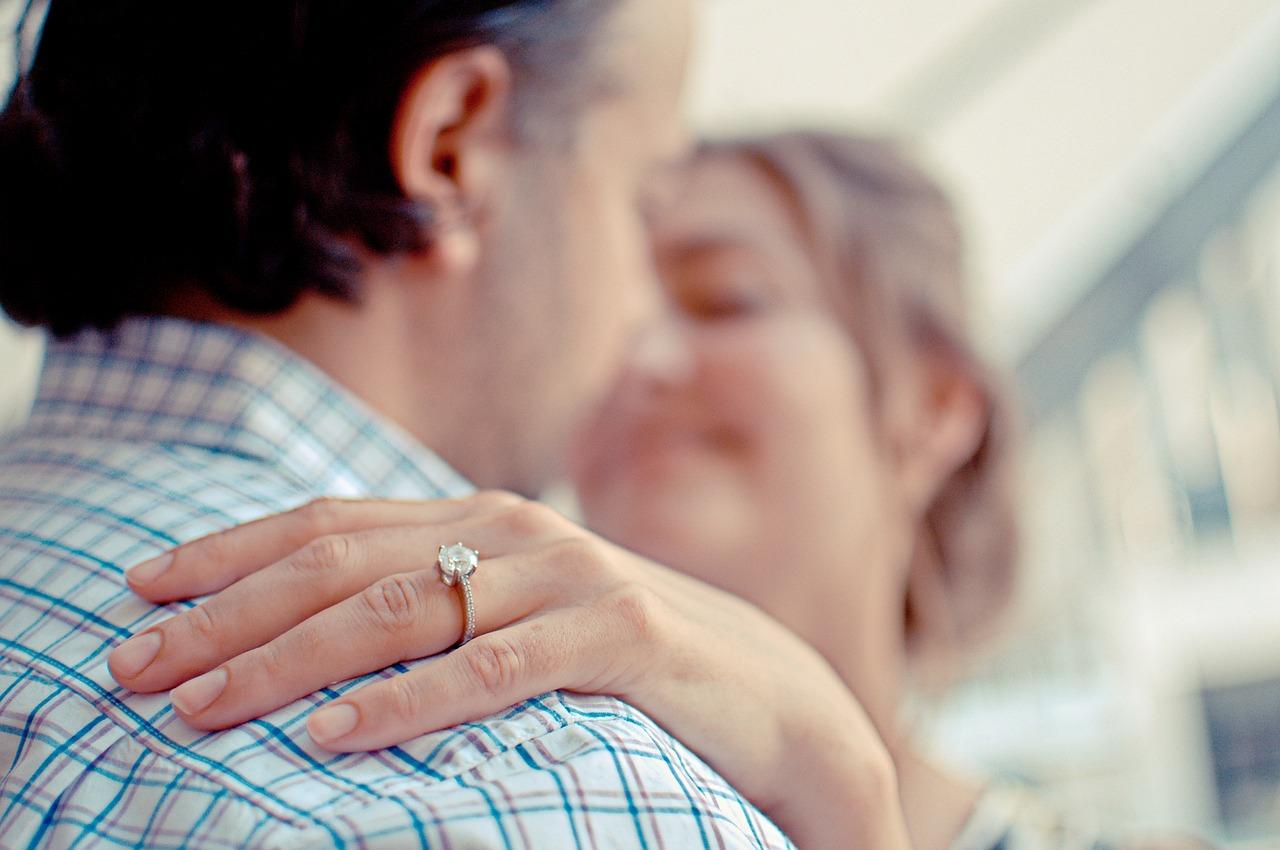 טבעת על האצבע