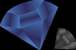 שחור וכחול