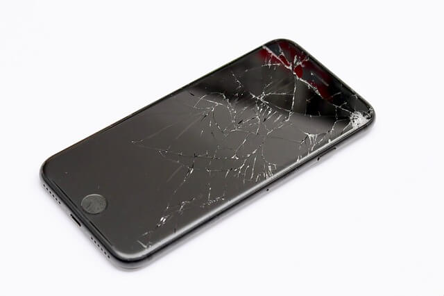 אייפון 7 מסך שבור